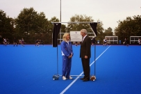Opening Ceremony of New Pitch