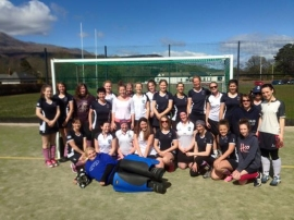 Glasgow Accies Touring Team v Arran Ladies - April 2015